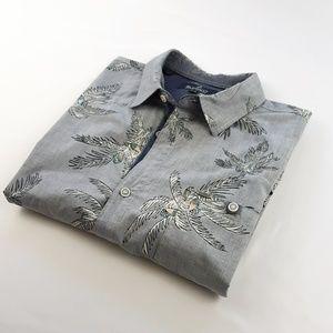 BUFFALO DAVID BITTON men's button down shirt